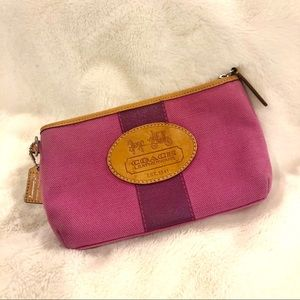 Coach Hampton Archive wristlet wallet